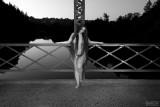 Nude on the Bridge