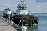 Tugs Along Pier 32