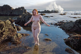 A Splash at The Beach