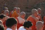 29 Les moines bouddhistes de Sarnath