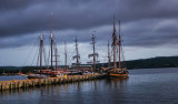 Tall Ships at the Dock