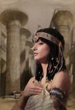 Priestess at Karnac