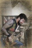 Bass Player Sketch