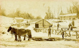Lumber Mill in Winter