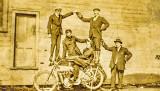 Balancing on a Bike