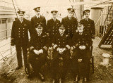 Officers of the RMS Canadian Fisher
