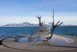IMG_5235.jpg Sun Voyager (Icelandic: Sólfar) sculpture by Jón Gunnar Árnason, Reykjavik - © A Santillo 2014
