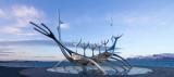 IMG_5238-Edit.jpg Sun Voyager (Icelandic: Sólfar) sculpture by Jón Gunnar Árnason, Reykjavik - © A Santillo 2014