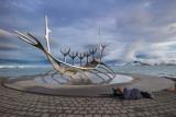 IMG_5420.jpg Sun Voyager (Icelandic: Sólfar) sculpture by Jón Gunnar Árnason - Reykjavik - © A Santillo 2014