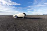 """IMG_5526.jpg A C-47 SkyTrain """"Dakota"""" - Sólheimasandur Beach, Suðurland - © A Santillo 2014"""