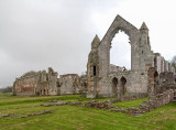 IMG_3878-3880-Edit.jpg Haughmond Abbey - remains of Augustian Abbey - Abbots Hall and Lodgings - © A Santillo 2012
