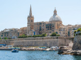 G10_0038.jpg St Andrews Bastion, Salvatore Bastion and St John's Anglican Cathedral - Valletta - © A Santillo 2009