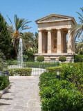 G10_0109.jpg Neo-classical temple - Lower Barrakka Gardens, Valletta - © A Santillo 2009