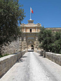 G10_0179.jpg Mdina city entrance gate (exterior view) - Mdina - © A Santillo 2009