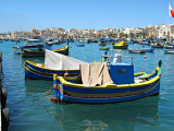 G10_0275.jpg Luzzu's - Traditional Maltese fishing boats - Marsaxlokk Harbour - © A Santillo 2009