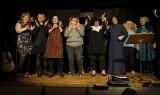 Øveaften i Løjt for dygtige amatørskuespillere og musikere fra nær og fjern.