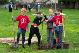 Lincoln Village Park Tree Planting