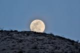 Death Valley Full Moon