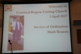 Mark Beaton Ordination