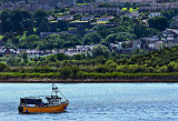 Youghal, from the River Blackwater estuary