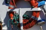 Safety whilst scrubbing the decks