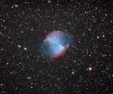 M27 - The Dumbell Nebula 21-May-2016