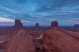 Monument Valley Sunset - December 2014