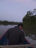 Embera Boatman on the Chucunaque River