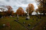 Evergreen Cemetery at Strafford UU Church