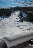 Snowshoeing at Elizabeth Mine