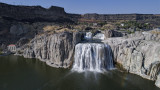 Shoshone Falls from the Air