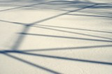 Shadow Lines In The Snow