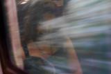 Mystery Lady In The Train Window