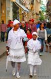 Santeros en Cuba, Old Havana, Cuba