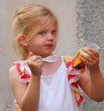 Hey mama ... I wanted ice cream...