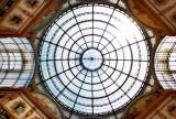 Galleria Vittorio Emanuele,Milan. The Dome