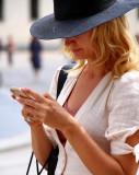 Incoming call....Piazza del Duomo,Milan