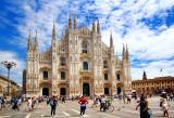 La Piazza del Duomo di Milano, Italy