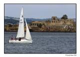 Sailing By Inchgarvie