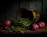 String Beans with Red Potatoes