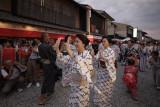 Bon Odori at Kami-shichiken KYOTO