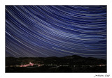 Rastres d'estels damunt Rossell (Baix Maestrat/Castelló)