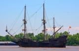 Spanish Galleon on the Muddy Mississippi