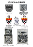 Heraldry of the Johnstons - Arms & Seals of Newbie