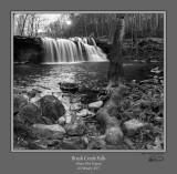 Brush Creek Falls Sunstar BW.jpg