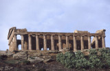 Agrigento temple of concordia