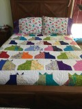 Wife's quilts
