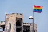Tel-Aviv. Colors of the rainbow
