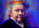 Impressions of Faces and Portaits in Rembrandt's Paintings