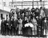 September 16, 1921 - Well-dressed family of 27 arriving from Russia
